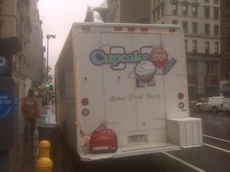 the cupcake stop - the newest dessert truck in town