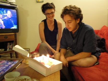 Trev and candles